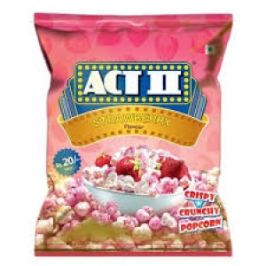 ACT II STRAWBERRY FLAV POPCORN 15G