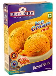BLUE BIRD ICE CREAM MIX ROYAL NUTS 100G