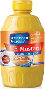 AMERICAN GARDEN U.S.MUSTARD SQUEEZE 227G