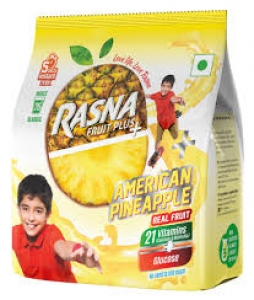 RASNA FRUIT PLUS+ AMERICAN PINEAPPLE 500G