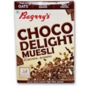 BAGRRY`S CHOCO DELIGHT MUESLI WITH ALM & RAIS 400G